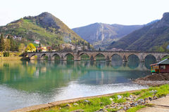 Drina bridge Stock Image