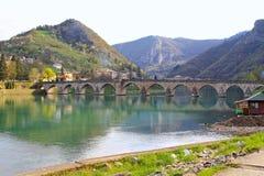 Drina bridge Stock Image