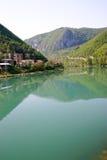 Drina river. Beautiful drina river, bosnia and herzegovina royalty free stock photography
