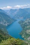 Drina River Canyon Immagine Stock Libera da Diritti