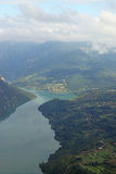 Drina River Canyon Photo libre de droits
