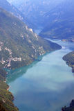 Drina river canyon Banjska stena viewpoint Tara mountain. Serbia royalty free stock photos