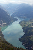 Drina river canyon Tara mountain Serbia. Europe royalty free stock photography