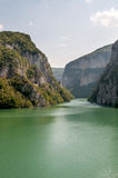 Drina river stock photo