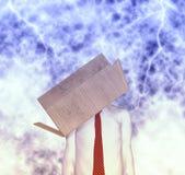 Dringend denken Sie aus Kasten-Ideen-Konzept-Illustration heraus Lizenzfreie Stockfotos