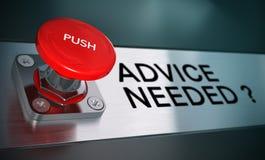 Dringender Rat, Lösen von Problemen Lizenzfreies Stockfoto