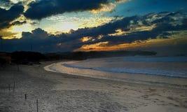 drini海滩 免版税图库摄影