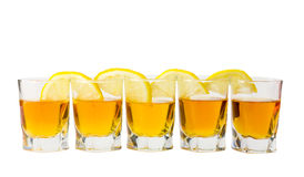 Drink And Lemon Royalty Free Stock Images
