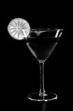 Drink in black and whitw Royalty Free Stock Photo