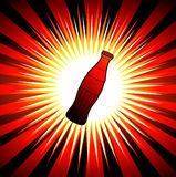 Drink bottle graphic. A illustration of drink bottle graphic with background Royalty Free Stock Images