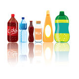 Drink Bottles Stock Image