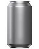 Drink Can. 3D computer illustration on white background Stock Photos