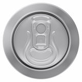 Drink Can. 3D computer illustration on white background Stock Images