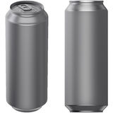 Drink can 500 ml Stock Photography