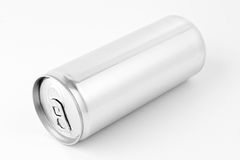 Drink can from blank aluminum Royalty Free Stock Photography