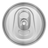 Drink can top Royalty Free Stock Photography