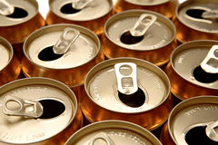 Drink cans Royalty Free Stock Photo