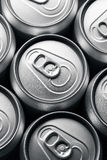 Drink cans Stock Photo