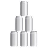 Drink cans Stock Images