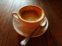 Coffee. Drink cappucino for breakfast royalty free stock photos