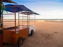 Drink cart. On the Jericoacoara beach - Jericoacoara National Park - State of Ceara - Brazil Stock Photo
