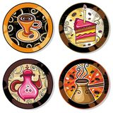 Drink coasters 2 Royalty Free Stock Photography