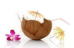 Drink of coconut Stock Photography