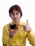 Drink Coffee Royalty Free Stock Photos