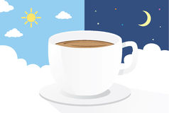 Drink Coffee All Time Stock Images