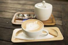 Drink coffee latte Stock Photos