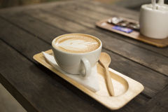 Drink coffee latte Royalty Free Stock Photos