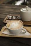 Drink coffee latte Stock Photo