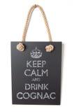 Drink cognac Stock Photos
