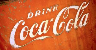 Drink Coke Royalty Free Stock Photography