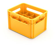 Drink crate Royalty Free Stock Photography