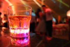 Drink and dance Royalty Free Stock Photography
