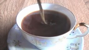 Drink, delicious, coffee stock video