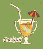 Drink design Stock Photography