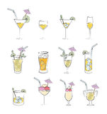 Drink design Stock Photos