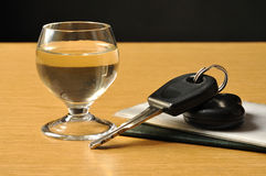 Drink and Drive Stock Image