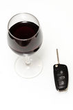 Drink and drive Stock Photography