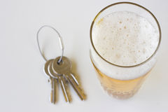 Drink driving Royalty Free Stock Image