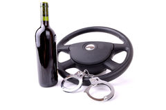 Drink driving Royalty Free Stock Photo