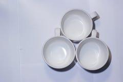 Drink för tre Royaltyfri Foto