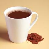 Drink för varm choklad fotografering för bildbyråer
