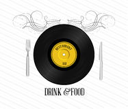 Drink and food Stock Photo