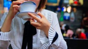 Drink gai bowl tea royalty free stock photo