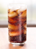Drink: glass of cold cola Royalty Free Stock Images