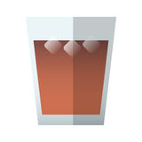 Drink glass icon Stock Photo