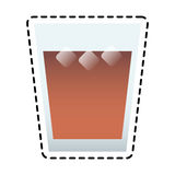 Drink glass icon Stock Photography